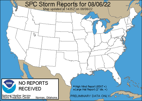 Local Storm Reports By Noaa Storm Prediction Center Punxsutawney